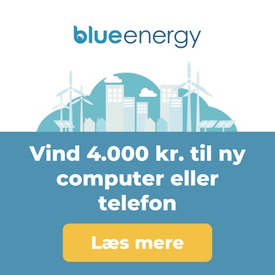 Blue Energy - vind gavekort til Power